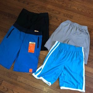 Lot/4 Boys sz 14/16 Large Shorts Athletic + Casual
